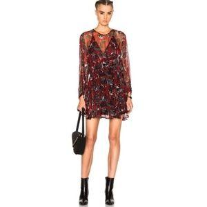 Iro Rassey Black and Red Dress